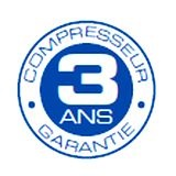 Compresseur garanti 3 ans